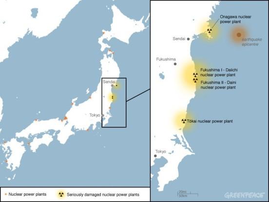La Tokyo Electric Power (Tepco), operadora de la planta, admitió además la posibilidad de que el combustible del reactor 2 pueda haber comenzado a fundirse a causa de una nueva avería en el circuito de enfriamiento.