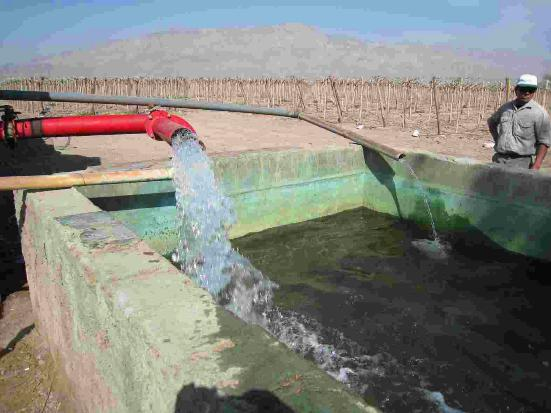 El Proyecto consistió en la realización de un estudio sobre las condiciones de eficiencia del parque de bombeo para riego agrícola instalado en San Juan.