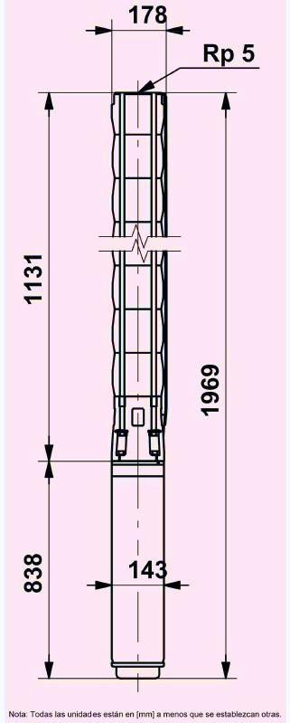 La bomba Grundfos SP 95-5