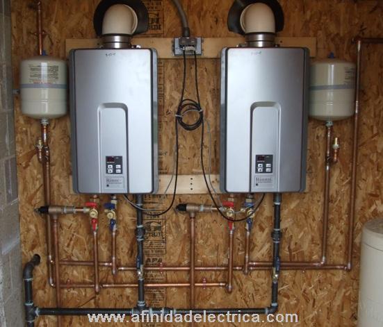 Como resultado, los calentadores de agua sin tanque entregan un suministro constante de agua caliente.