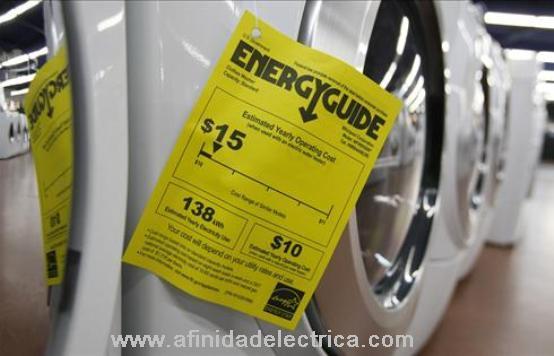 Utilice los electrodomésticos y electrónicos eficientes que cuenten con certificación ENERGY-STAR.
