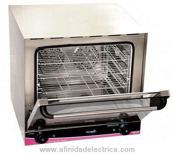 Los hornos de convección son más eficientes que los hornos convencionales.