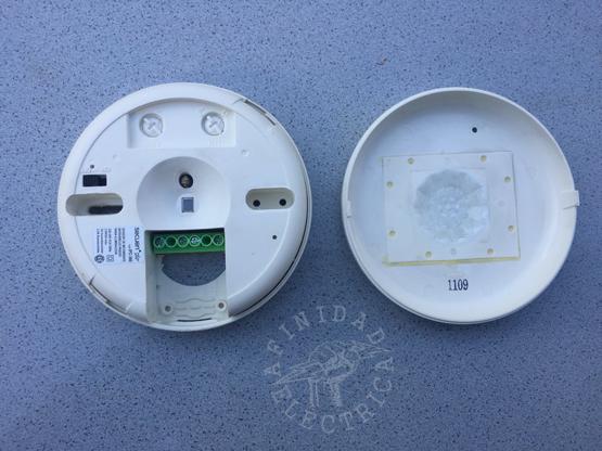 Detector Secuen de conexión de tres cables.