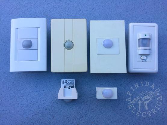 De embutir: Este tipo de sensores se montan en cajas rectangulares de instalaciones eléctricas embutidas en los muros.