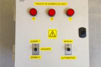 Diseño de un tablero de control de bombas de agua.