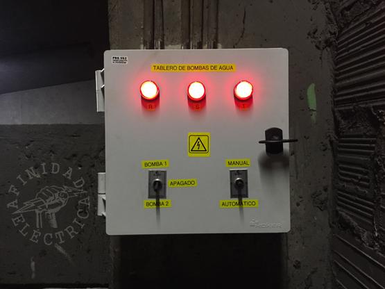 Finalizado el conexionado, se da alimentación al circuito.