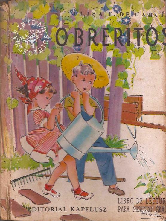 """Otra referencia notable sobre el gasoducto la hace el libro de lectura para segundo grado """"Obreritos"""" de la autora  Luisa F. de García y publicado por la Editorial  Kapelusz en el año 1953."""