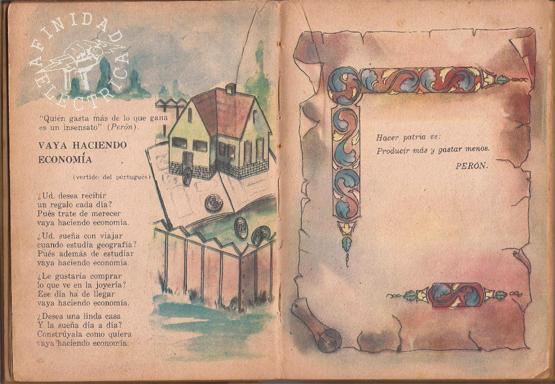 Se trata de libros de lectura para escuela primaria editados entre los años 1952 y 1955 siguiendo las orientaciones de los nuevos programas de estudio dictados por el Ministerio de Educación de la Nación.