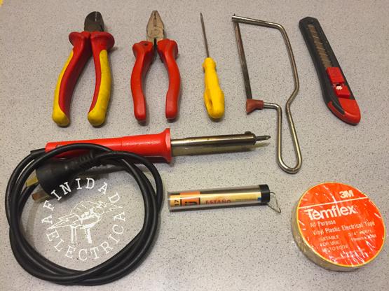 Para realizar esta tarea serán necesarios los siguientes materiales y herramientas.